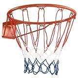 """Goplus 18"""" Basketball Rim Net Basketball Hoop Wall Door Mounted Indoor Outdoor Hanging for Adults Kids"""