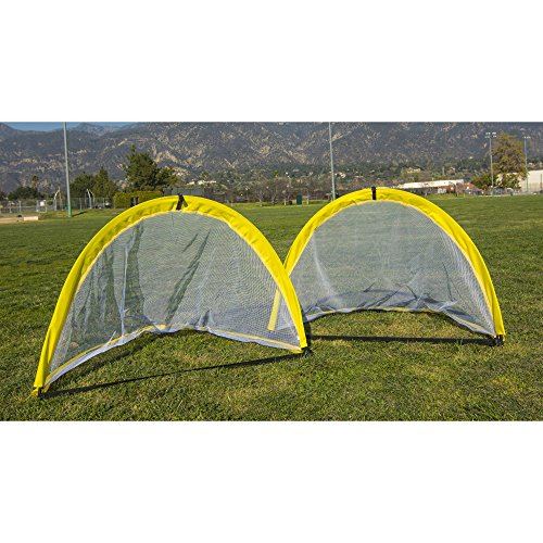 Athletic Works Soccer Goals 4' Pop-Up Goal, Arch Version Set of 2 by Athletic Works