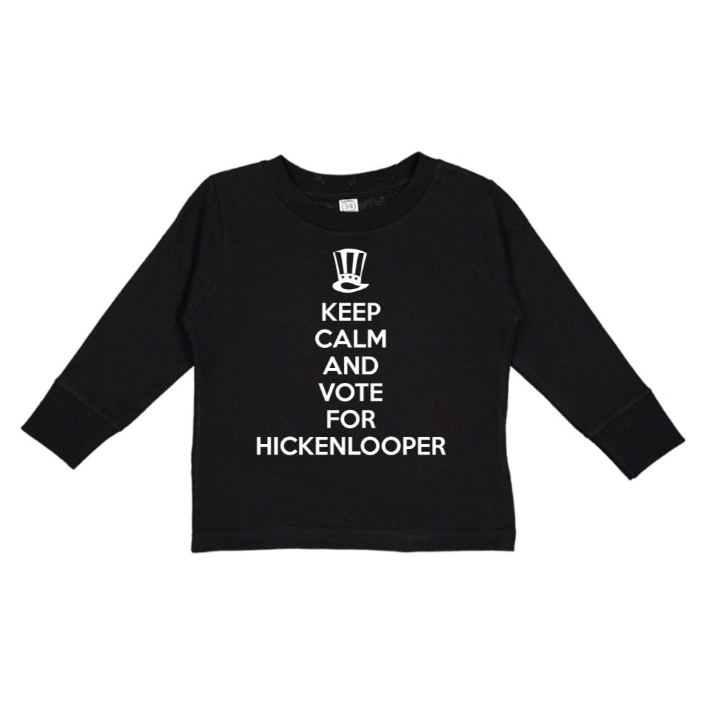 Mashed Clothing Keep Calm /& Vote for Hickenlooper Presidential Election 2020 Toddler//Kids Long Sleeve T-Shirt