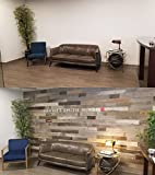 Peel and Stick Wood Wall Planks, 100% Real Rustic