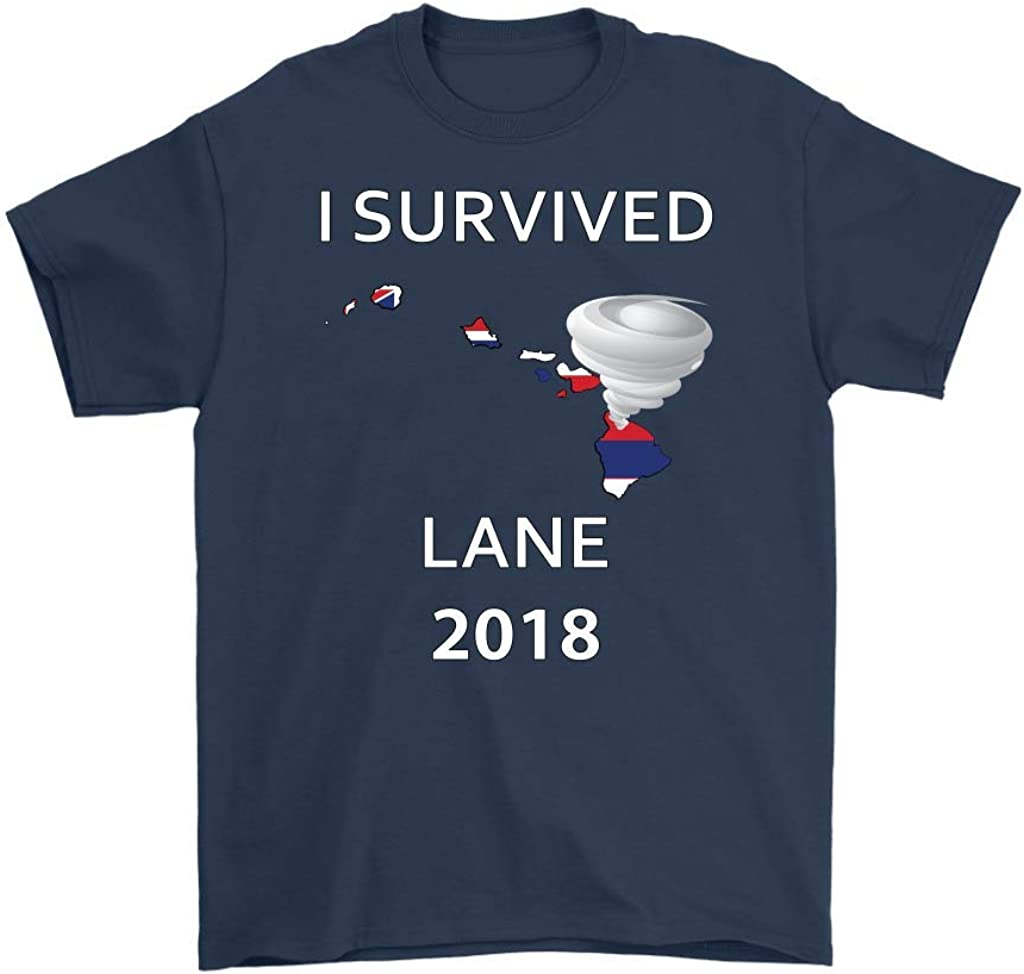 I Survived Hurricane Lane 2018 Hawaii Men's T-Shirt