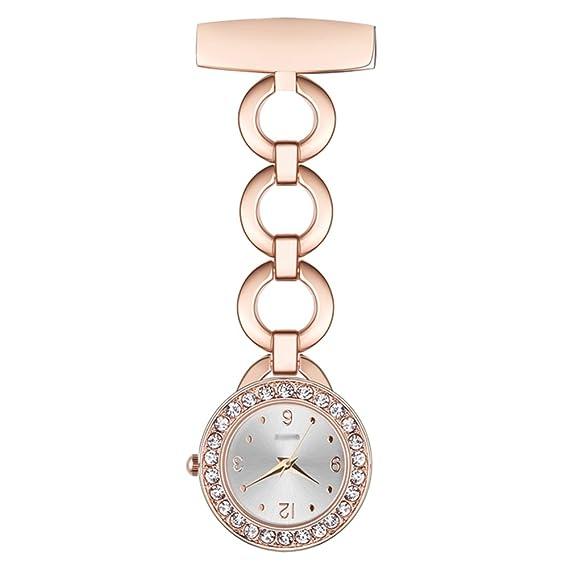 Niña Impermeable Reloj de Enfermera, Médico Reloj en el Pecho, Lindo Reloj de Bolsillo