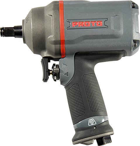 Pistol Grip Pneumatic Screwdriver - Stanley Proto J150WP 1/2-Inch Square Drive Pistol Grip Impact Wrench, 1-Pack
