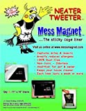 Mess Magnet Cage Liner 4-PACK (11″x15″), My Pet Supplies