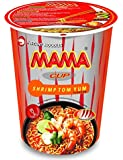 MAMA Noodles SHRIMP TOM YUM Instant Cup of Noodles with Delicious Thai Flavors, Hot And Spicy Noodles With Shrimp Tom…
