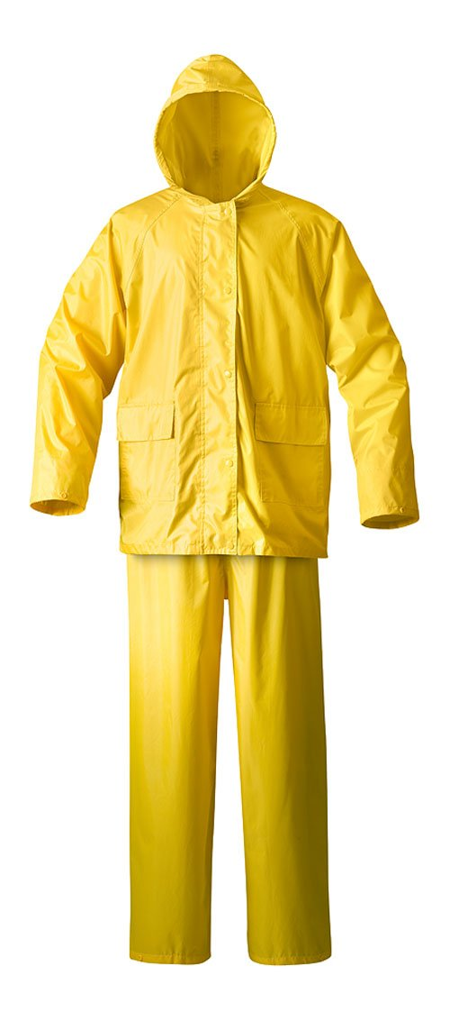 Raider Simplex Rainsuit (Yellow, XX-Large)