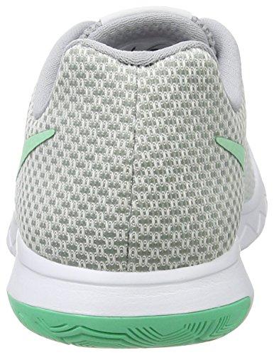 Nike Damen Flex Ervaring Run 6 Laufschuhe Grau (wit / Groen Glow-wolf Grijs)