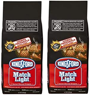 product image for Kingsford Match Light Charcoal Briquettes, 6.2 lbs (4 Pack)