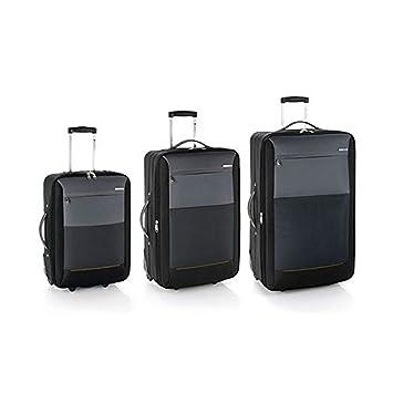 Gabol reims juego de 3 maletas: cabina, mediana y grande: Amazon.es: Equipaje