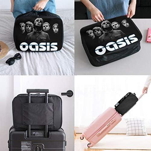トラベルポーチ アレンジケース オアシス Oasis 旅行収納バッグ 衣類収納バッグ 収納専用ポーチ 手提げ 短期出張 多機能 ファスナー 収納便利グッズ 軽量 大容量 便利 ビジネス 海外旅行 整理用