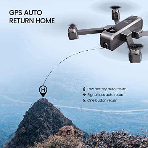 Potensic D88 Foldable Drone, 5G WiFi FPV Drone with 4K Camera, RC Quadcopter for Adults and Experts, GPS Return Home, Ultrasonic Altitude Setting, Optical Flow Positioning, 2 Battery 40min-Upgrade 51fQ 2BifnLfL