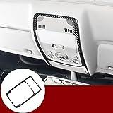 Carbon Fiber Inner Front Reading Light Trim Cover 1pcs for Audi A5 S5 2008-2016