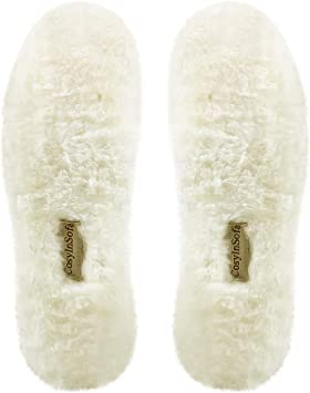 あったか インソール 防寒 ふわふわ レディース メンズ 天然羊毛 ウール インソール 中敷き 冬用 ブーツ スニーカー スノーブーツ 男女兼用 サイズ 22.5cm~27cm 一足分