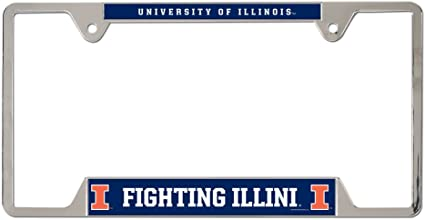 Wincraft NCAA Gonzaga University Metal License Plate Frame