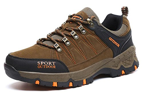 GFONE Unisex Women's Men's Trekking and Hiking Shoes Boots Walking Sneakers Low Rise Size 2.5-10