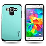 CoverON® for Samsung Galaxy Grand Prime Hybrid Case [Slim Guard Series] Protective Full Body Shockproof Tough Thin Phone Cover - Teal …