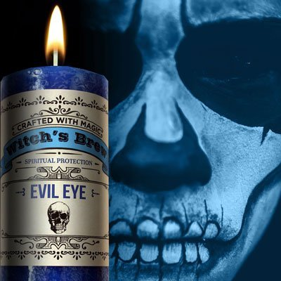 Witches Brew - Evil Eye Candle