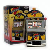 Trademark Poker Burning 7's Slot Machine Bank with Spinning Reels