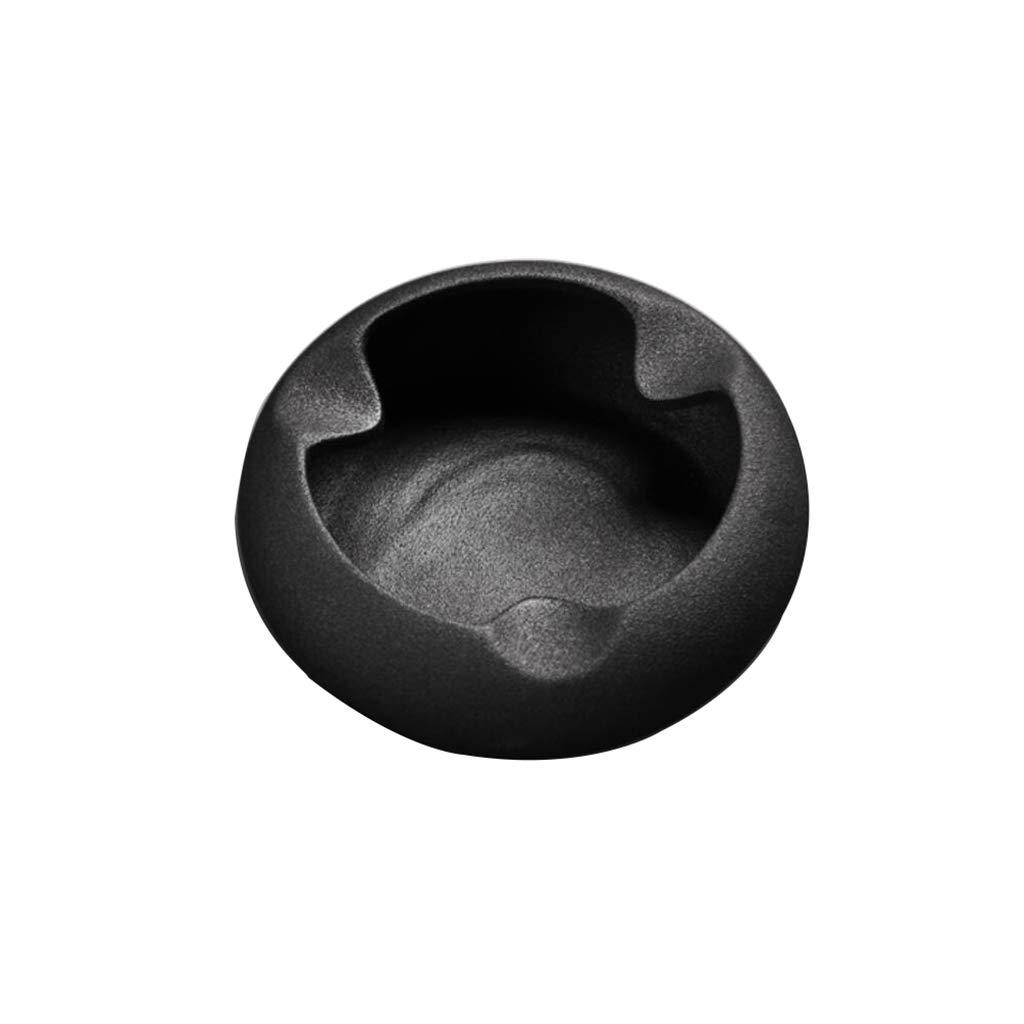 YINJIU Kreativer Modetrendbürowohnzimmerkaffeetisch moderner minimalistischer Persönlichkeitshaushalt keramische Zigarreaschenbechergewohnheit (Farbe : A)