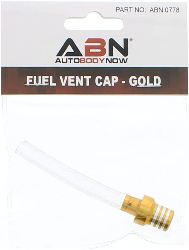 ABN Fuel Gas Cap Vent Universal Tube Breather Hose Motorcycle ATV Dirt Pit Bike in Green