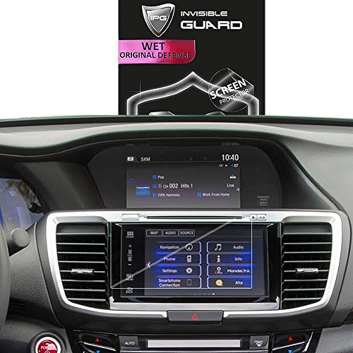 IPG for Honda Accord 2016-2017 Navigation 7´ Touch Screen Radios Screen Protector Invisible Ultra HD Clear Film Anti Scratch Skin Guard - Smooth/Self-Healing/Bubble -Free by ()