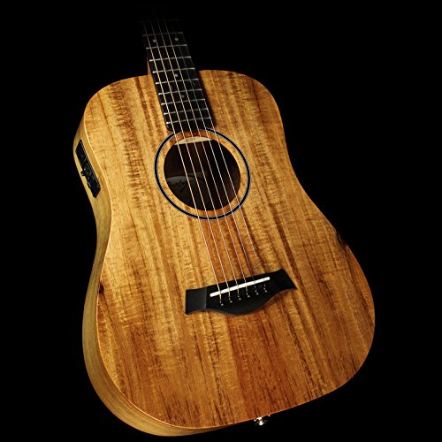 Baby Acoustic Guitar (Taylor Baby Series BTe-Koa Dreadnought Acoustic-Electric Guitar)