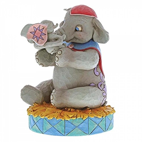 Jim Shore Disney Traditions by Enesco 6000973 Mrs Jumbo and Dumbo Figurine