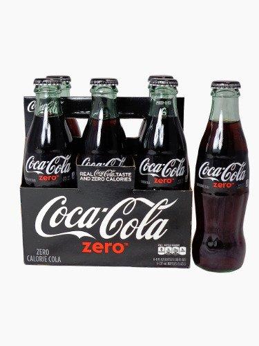 coca-cola-zero-8oz-glass-bottles-4-6-packs-24-bottles-coke