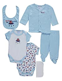 """Take Me Home Baby Boys' """"Out of this World!"""" 7-Piece Layette Set"""