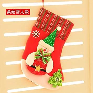 Top Shishang Personalidad Media Bordado a Mano Lentejuelas Calcetines de Navidad Niño Bolsa de llenado de