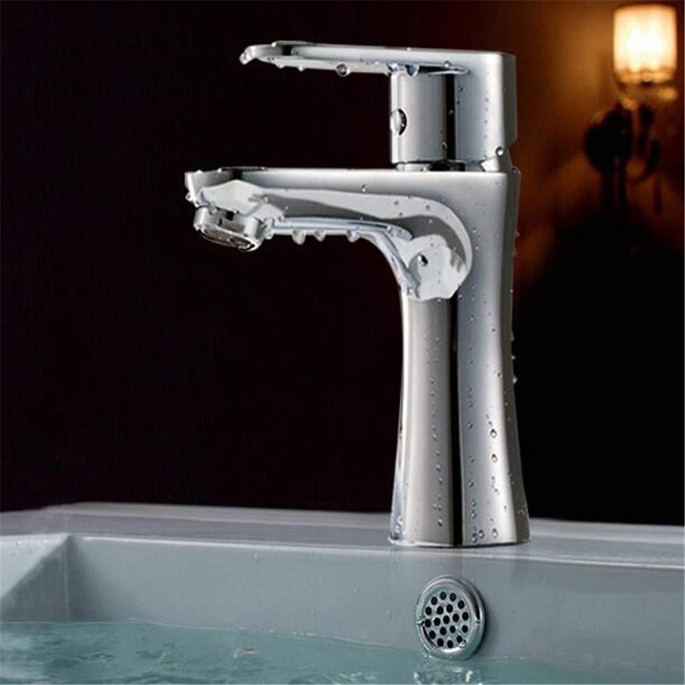 Waschtischarmaturenwaschbecken Wasserhahn Waschbecken Wasserhahn Heißes Und Kaltes Badezimmer Waschbeckenkopf