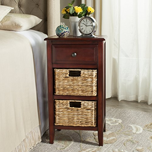 - Safavieh American Homes Collection Everly Cherry Side Table