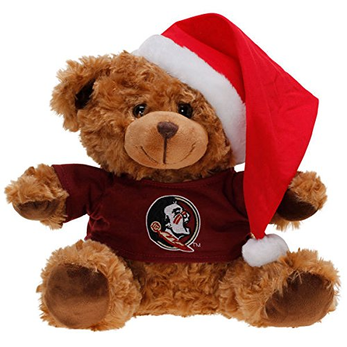FOCO Florida State Bear with Santa Hat by FOCO