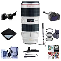 Canon EF 70-200mm f/2.8L IS II USM Lens Bundle. USA. Value Kit with Acc #751B002
