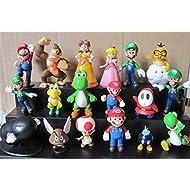 Oliasports Super Mario Brothers Action Figures Set (...