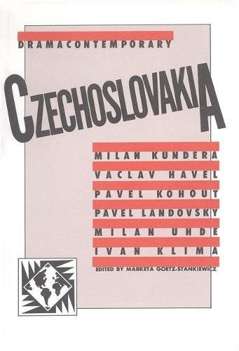 DramaContemporary: Czechoslovakia (PAJ Books) pdf