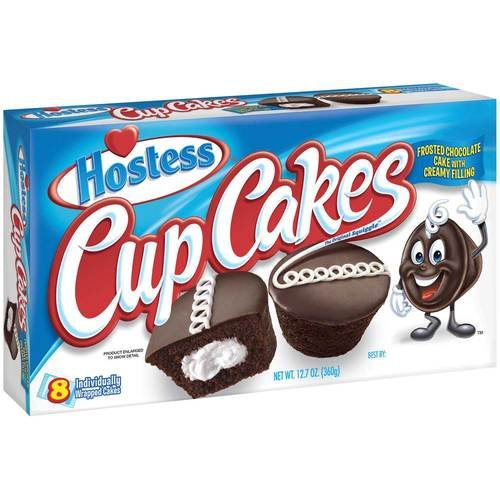 Hostess Frosted Chocolate CupCake, 12.7 Ounce -- 6 per case. ()