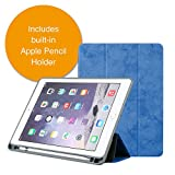 2018 iPad Case by &Colors – New iPad Case for 9.7 inch 6th Generation Model – Slim Smart Case with Auto Sleep/Wake Function, Stylus Holder, and Trifold Stand – Shock Resistant. (BLUE)