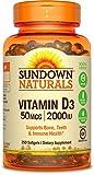 Sundown Naturals Vitamin D3 2000 IU, 350 Softgels Review