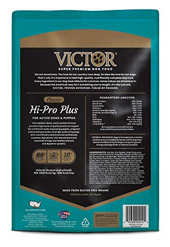 51fQ3kWHnpL - Victor Classic - Hi-Pro Plus, Dry Dog Food
