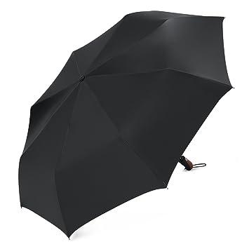Plemo Regenschirm, Auf-Zu Automatik Taschenschirm aus Satin-Stoff ...