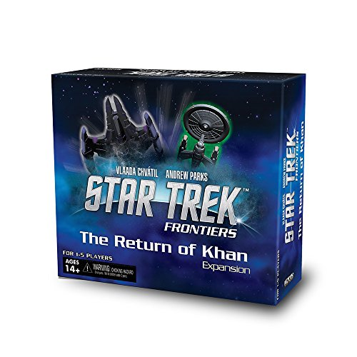WizKids 72863 Star Trek Frontiers The Return of Khan Expansion Set Board - Warehouse The Returns