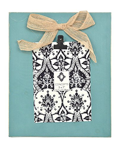 Concepts Turquoise Hanging Clipboard Frameless