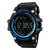 TOPCABIN Smart Sports Watch with Calorie Pedometer Bluetooth Call Low Power Remind For Men Women Blue