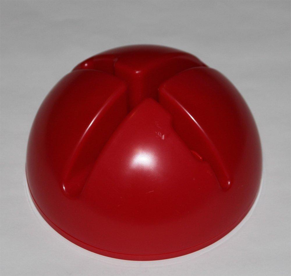 rouge couleur 1x xs70r socle multi-fonctions remplissable avec cerceau de gymnastique plat 70 cm