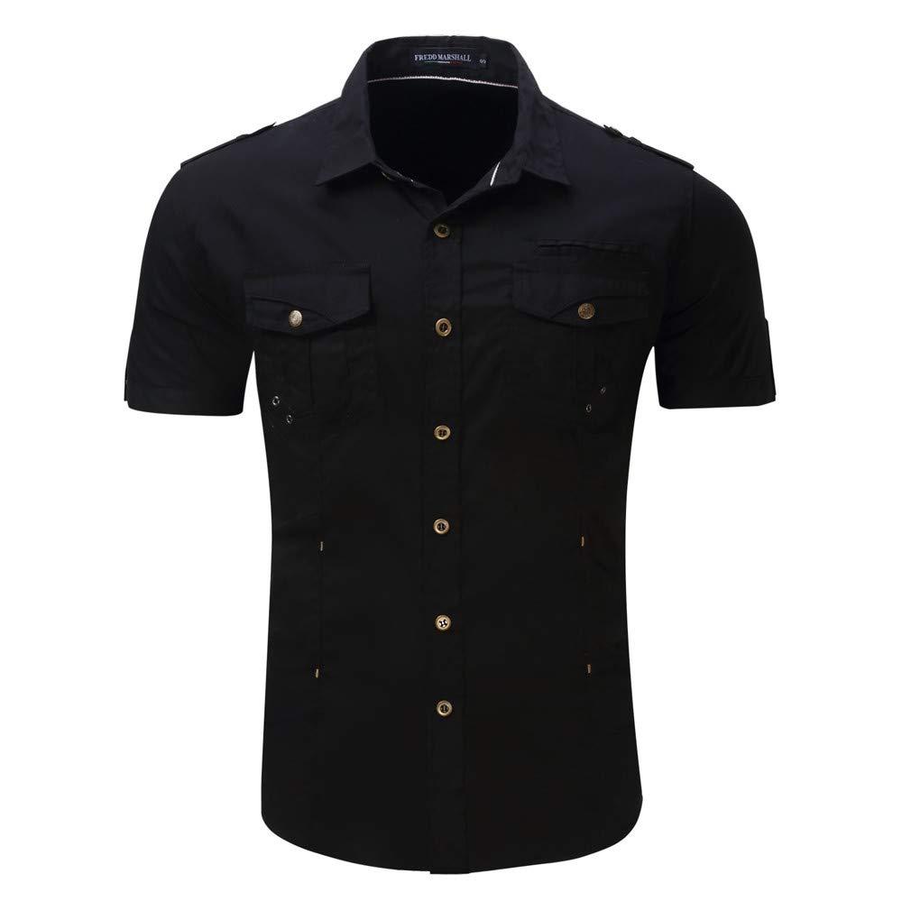 JERFER - Camiseta deportiva - cuello vuelto - para hombre