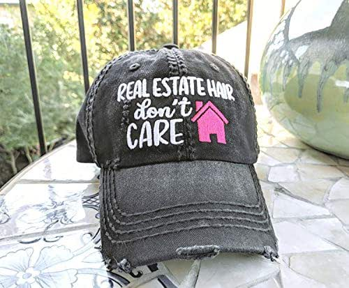 Customized Loaded Lids Real Estate Licensed to Sell Hat Real Estate Hat