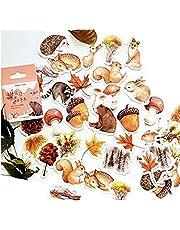 46 Stks Stickers Herfst Bos Styling Decal voor Diy Pocket Dagboek Album Scrapbook Decoratie