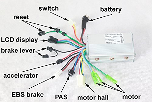 Brushless Motor Bicycle (24V36V48V 250W Brushless Motor Controller Electric Bicycle Hub Motor Hall Sensor Controler Electric Vehicle motor controller)