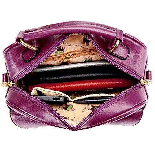 Shoulder Mini Body Cross Women's Mini Bag Laptop TianHengYi Leather Satchel Cute Bag Handbag Black Faux Ipad w4aaCz1xq